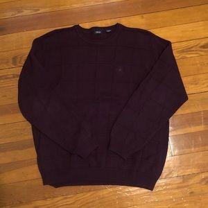 Izod Burgundy Sweater